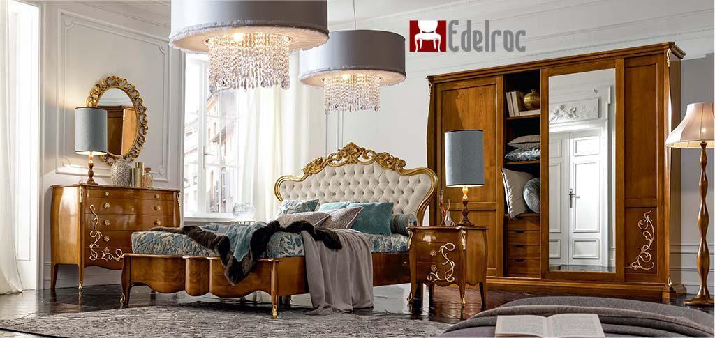 Mobilier dormitor, Mobilier lux,mobilier lemn,Pat E1761G