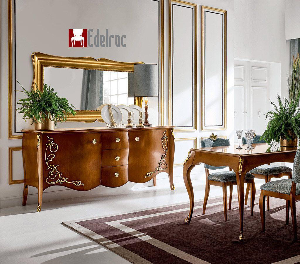 Mobilier Dining, Mobilier lux,mobilier lemn,Oglinda E1739G