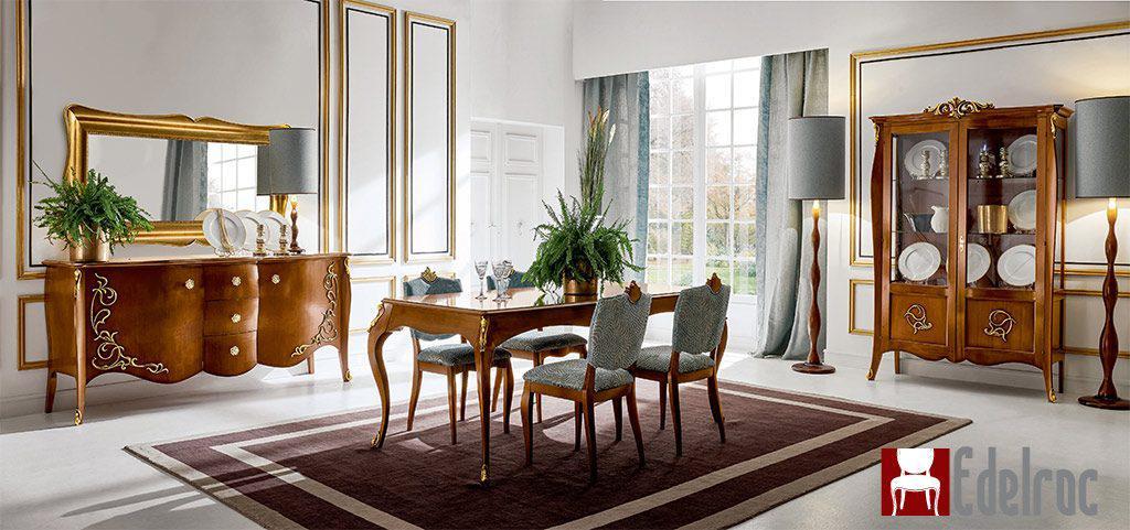 Mobilier Dining, Mobilier lux,mobilier lemn,Masa E1736GB