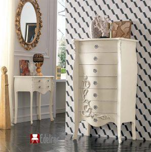 Feronerie Charme, Mobilier lux,mobilier lemn,Casetiera E1722G