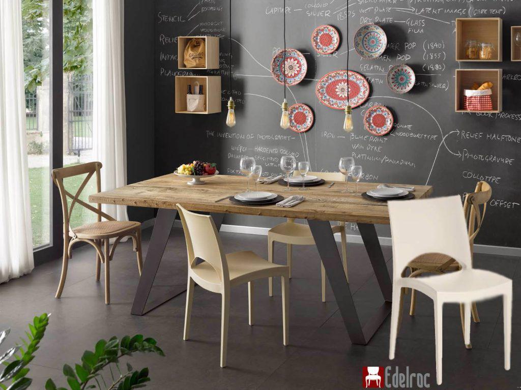 Scaun E6135A ,mobilier ,mobilier lemn dining ,mobilier moder