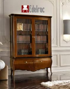 Vitrina FR004E Mobilier clasic din lemn Mobilier birou