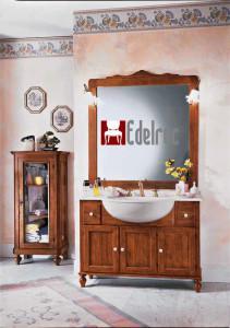 Set mobilier baie E859A Mobilier clasic din lemn