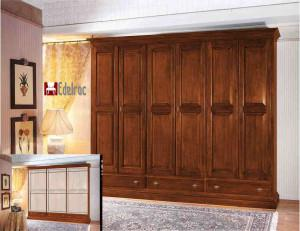 Dulap haine E728A Mobilier dormitor mobila lemn