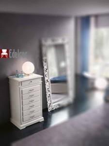 Casetiera E3007A Mobilier dormitor mobila lemn