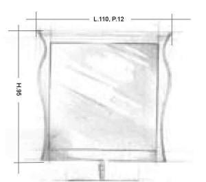Oglinda 138MB Mobilier clasic din lemn