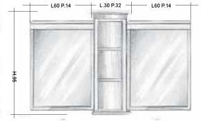 Oglinda 104MMB Mobilier clasic din lemn