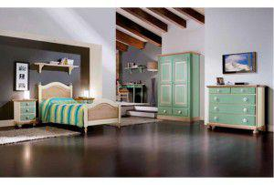 Dormitor Copii Verde