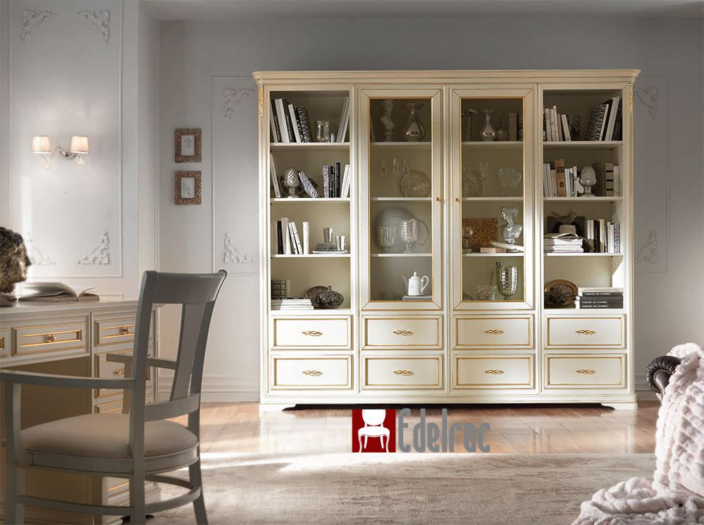 Biblioteca 6011T mobilier ,mobilier lemn living,mobilier clasic