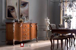 Comoda 1001T ,mobilier ,mobilier lemn Dormitor ,mobilier clasic