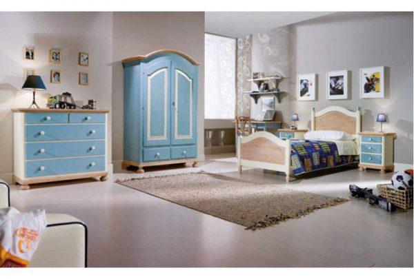 Dormitor Copii Bleu