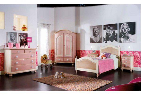Dormitor Copii Roz