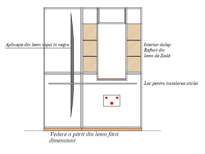 Mobilier baie din lemn MBE1A,mobilier lbaie lemn,