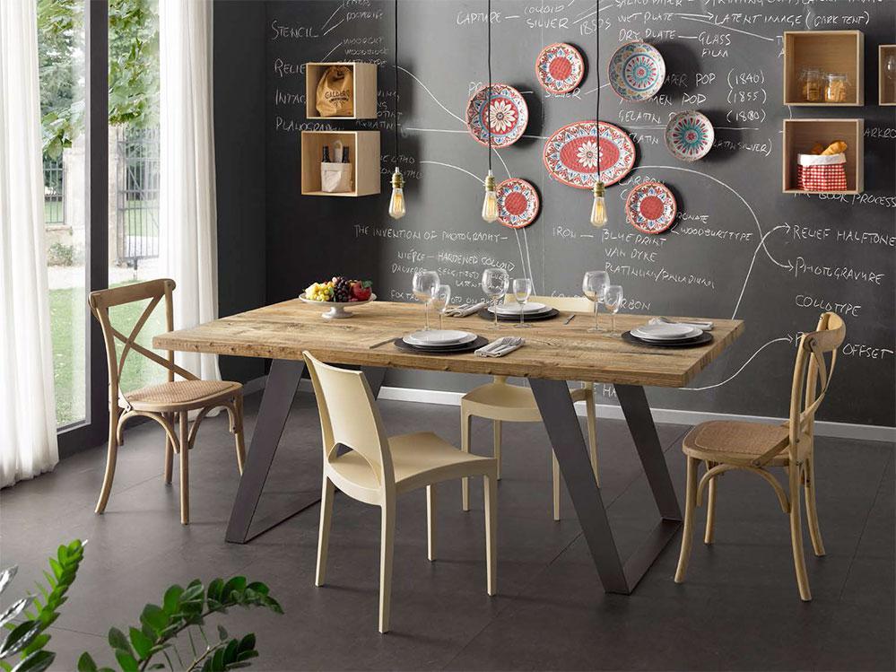 Scaun bar E6152A ,Mobilier modern, mobilier dining,mobilier lemn