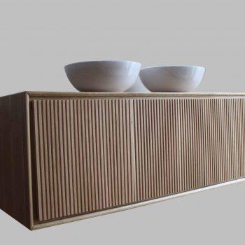 Mobilier baie din lemn MBE66