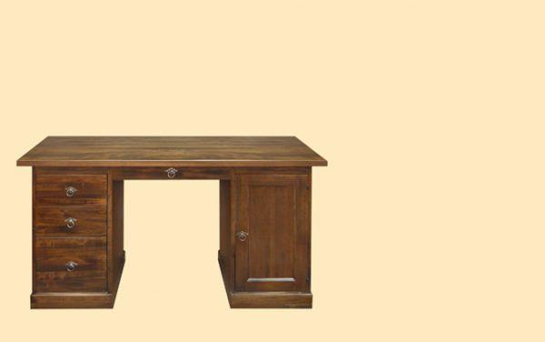 Birou demontabil E1915 ,mobilier clasic din lemn masiv