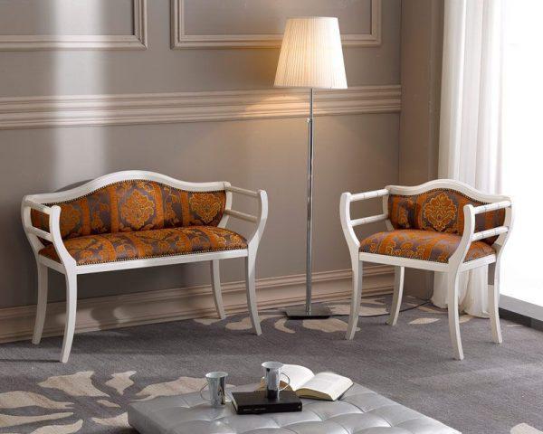 Living Baroc 195L Edelroc mobilier din lemn