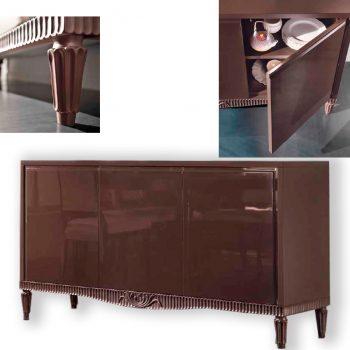 Comoda-EA1201T , mobilier clasic lemn, mobilier edelroc