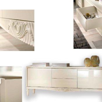 Comoda TV EA1210T , mobilier clasic lemn, mobilier edelroc