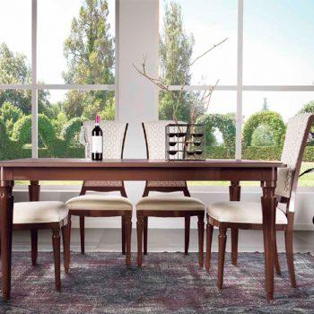 Masa EA1207T,mobilier clasic lemn, mobilier edelroc