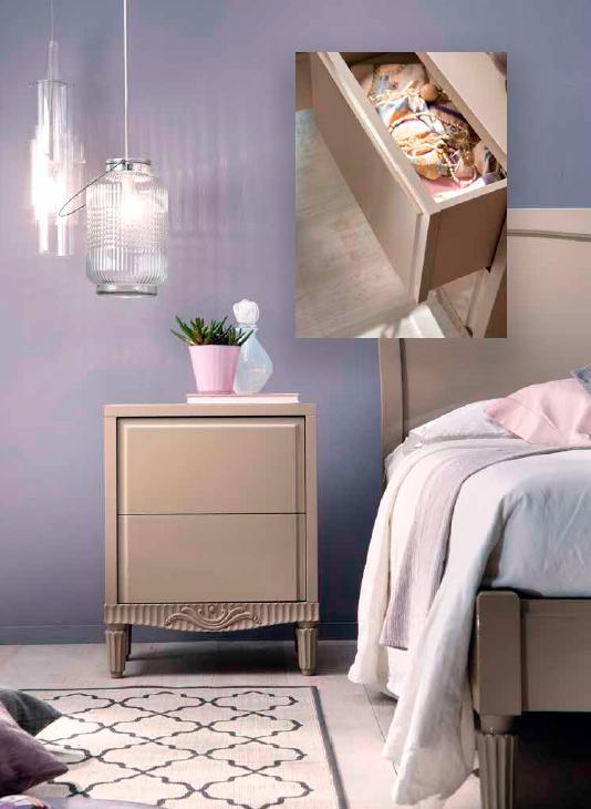 Noptiera-E1229-T ,mobilier clasic lemn, mobilier edelroc