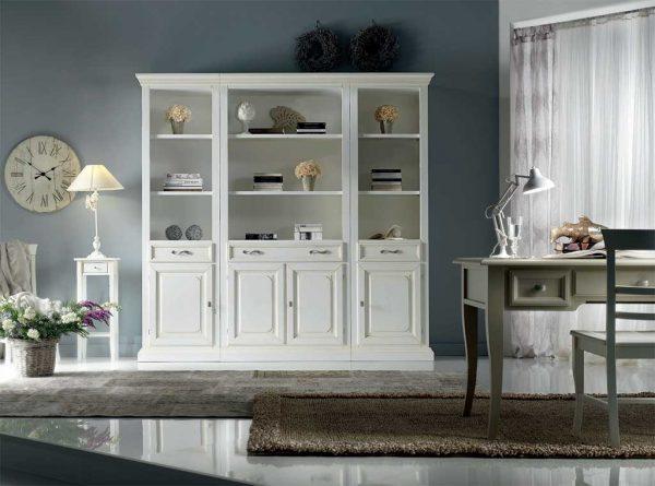 Biblioteca-ECb mobilier clasic lemn, mobilier edelroc