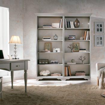 Biblioteca silvia mobilier clasic lemn, mobilier edelroc
