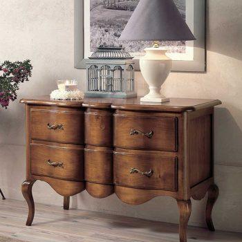 Comoda E1741T mobilier clasic lemn, mobilier edelroc