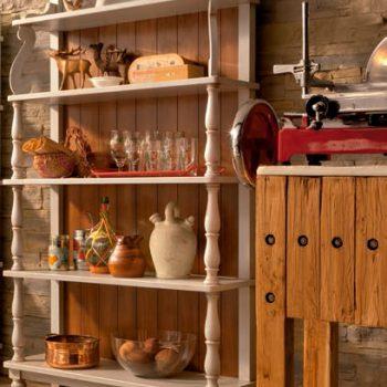 Etajera-E673T , mobilier clasic lemn, mobilier edelroc